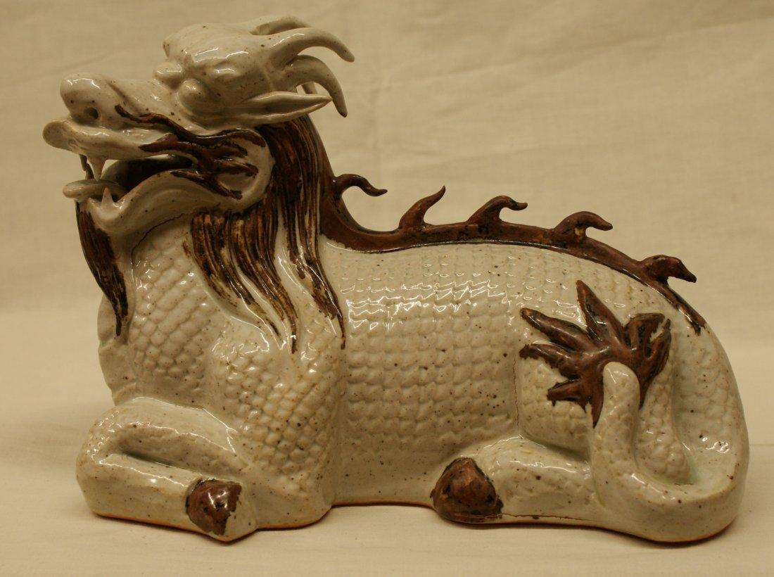 Porcelain dragon.  Song thru Ming Period.
