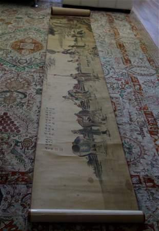 Ming painting (silk fabric) by Xiang Sheng Mo.