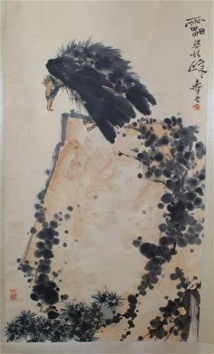 Painting by Pan Tian Shou.