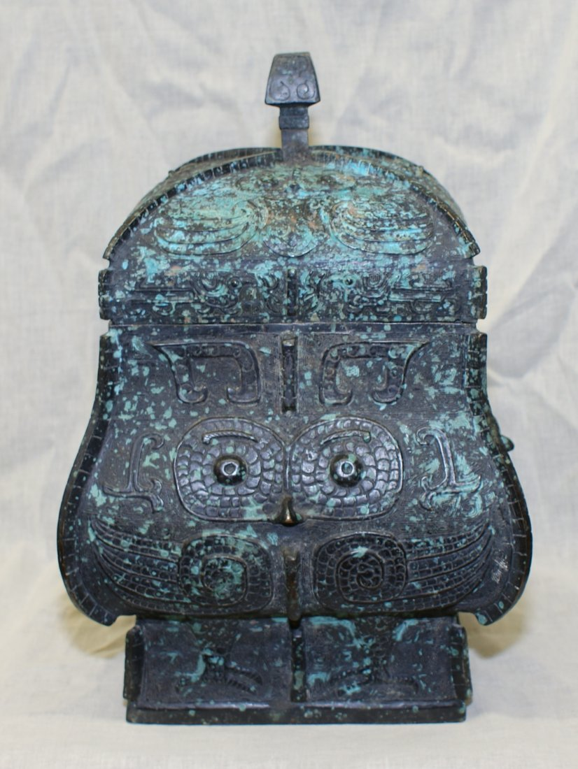 Archaic bronze Western Zhou thru Shang