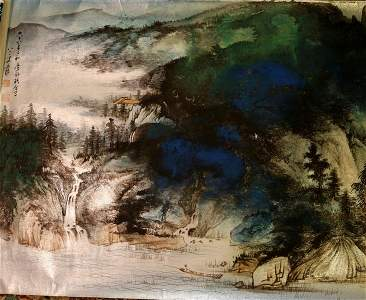 Painting by Zhang Da Qian.