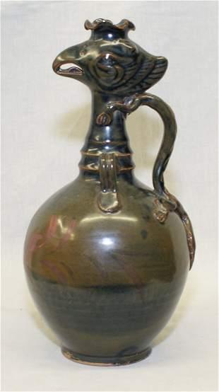 Brown glaze vase. Song thru Ming Period