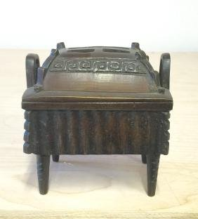 Old Asian bronze censer.