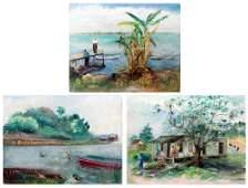Dora G McCollister American 18601945 Oil Paintings