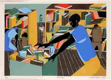 Jacob Armstead Lawrence (American 1917-2000) Print The