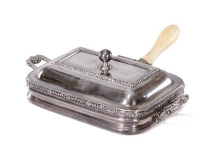 Silverplate Chafing Dish
