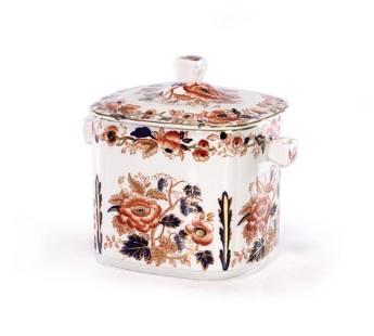 English Wedgwood Ceramic Lidded Box