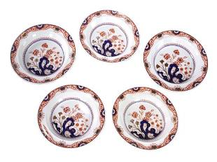 Five Wedgwood Rotterdam Ceramic Plates