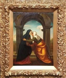 After Albertinelli Mariotto (Italian 1474-1515) Oil on