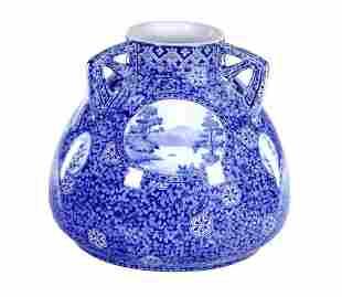 Swedish Rostrand Ceramic Vase
