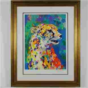"LeRoy Neimans - ""Portrait of the Cheetah"""
