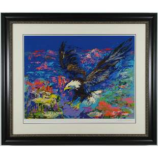 """LeRoy Neimans - """"American Bald Eagle"""""""