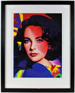 Liz Taylor by James Gill