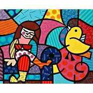 Only You Can Hearby Romero Britto
