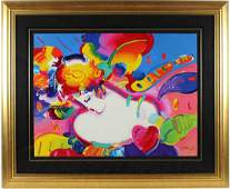 Flower Blossom Lady II by Peter Max