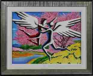 """Euphoric Day"" by Mark Kostabi"