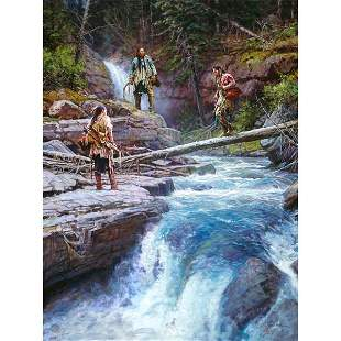 WHERE WATERS RUN COLD by Martin Grelle