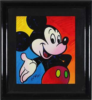 Mickey Mouse Suite I by Peter Max