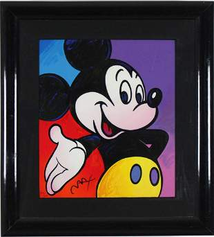 Mickey Mouse Suite IV by Peter Max