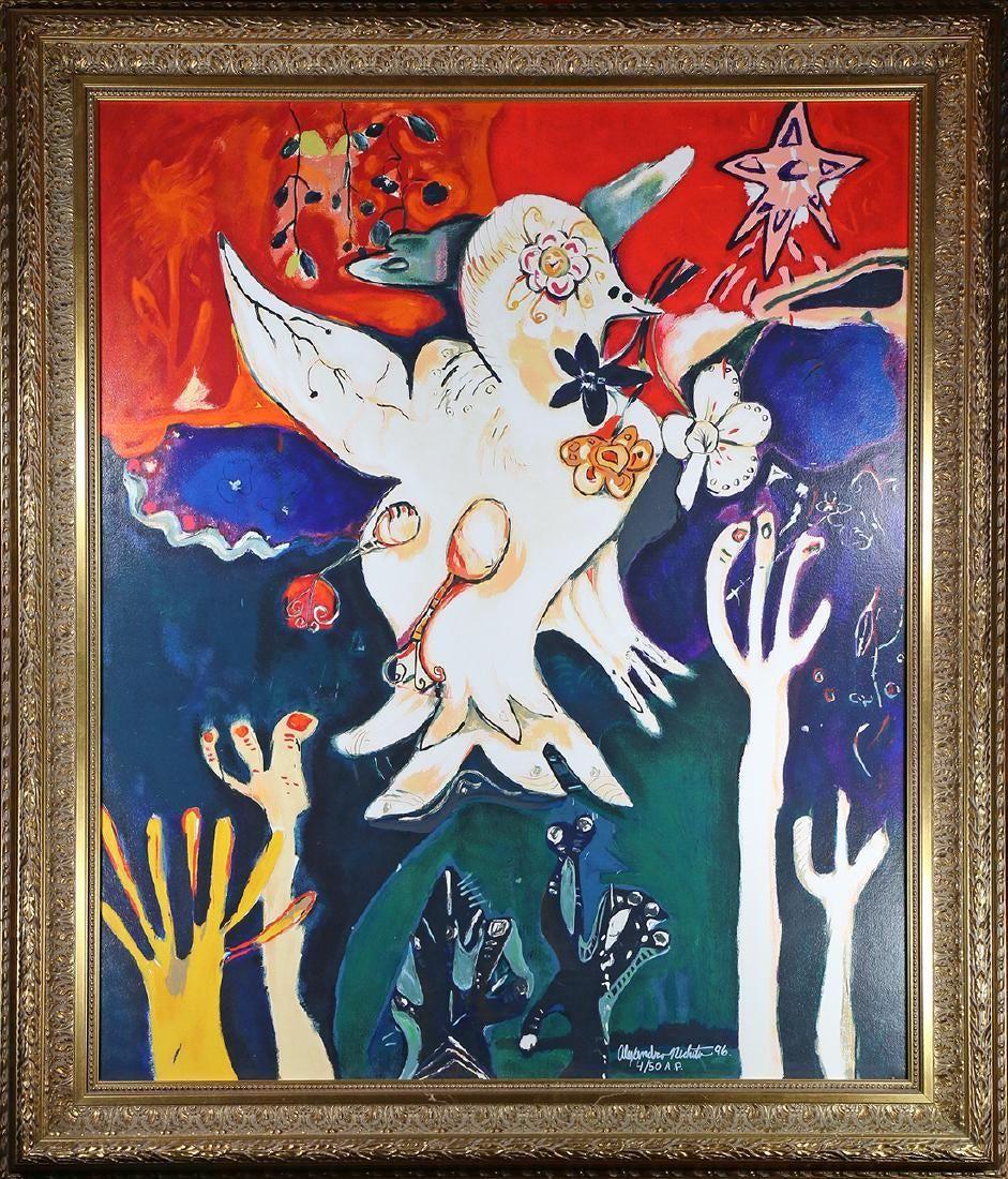 """Release the Peace"" by Alexandra Nechita"