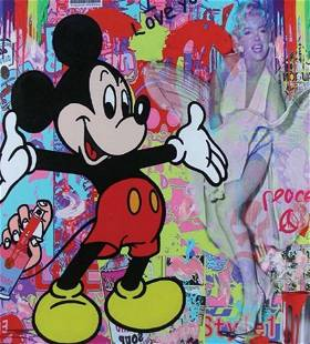 """BIG HUG (Mickey Mouse)"" by Jozza"