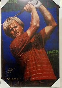 Jack Nicklaus by Stephen Holland