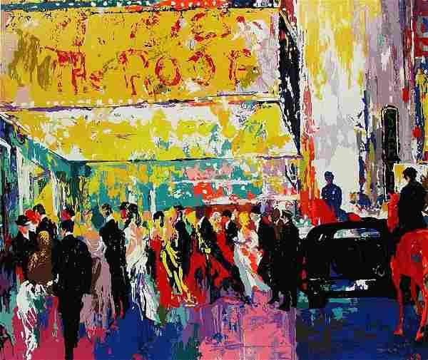 LeRoy Neiman - Opening Night on Broadway - Limited
