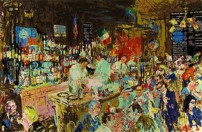 """P.J. Clarke's Bar"" by LeRoy Neiman SN 200/300"