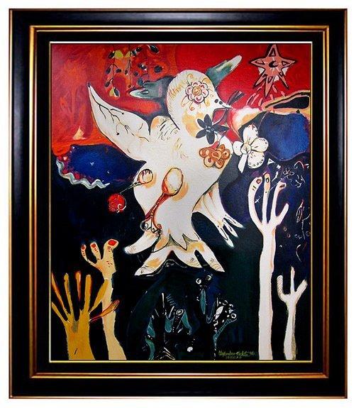 """Release the Peace"" by Alexandra Nechita - 2"