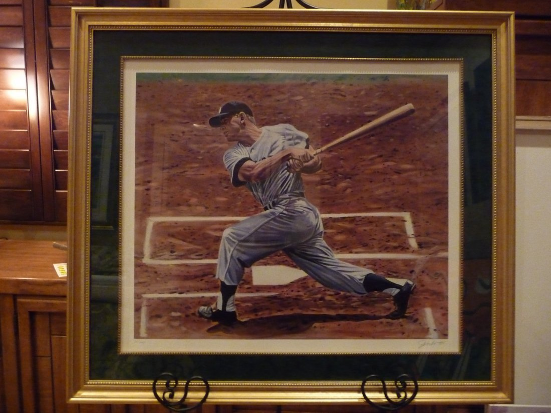 """""""Mickey Mantle 1956"""" by Andy Jurinko"""