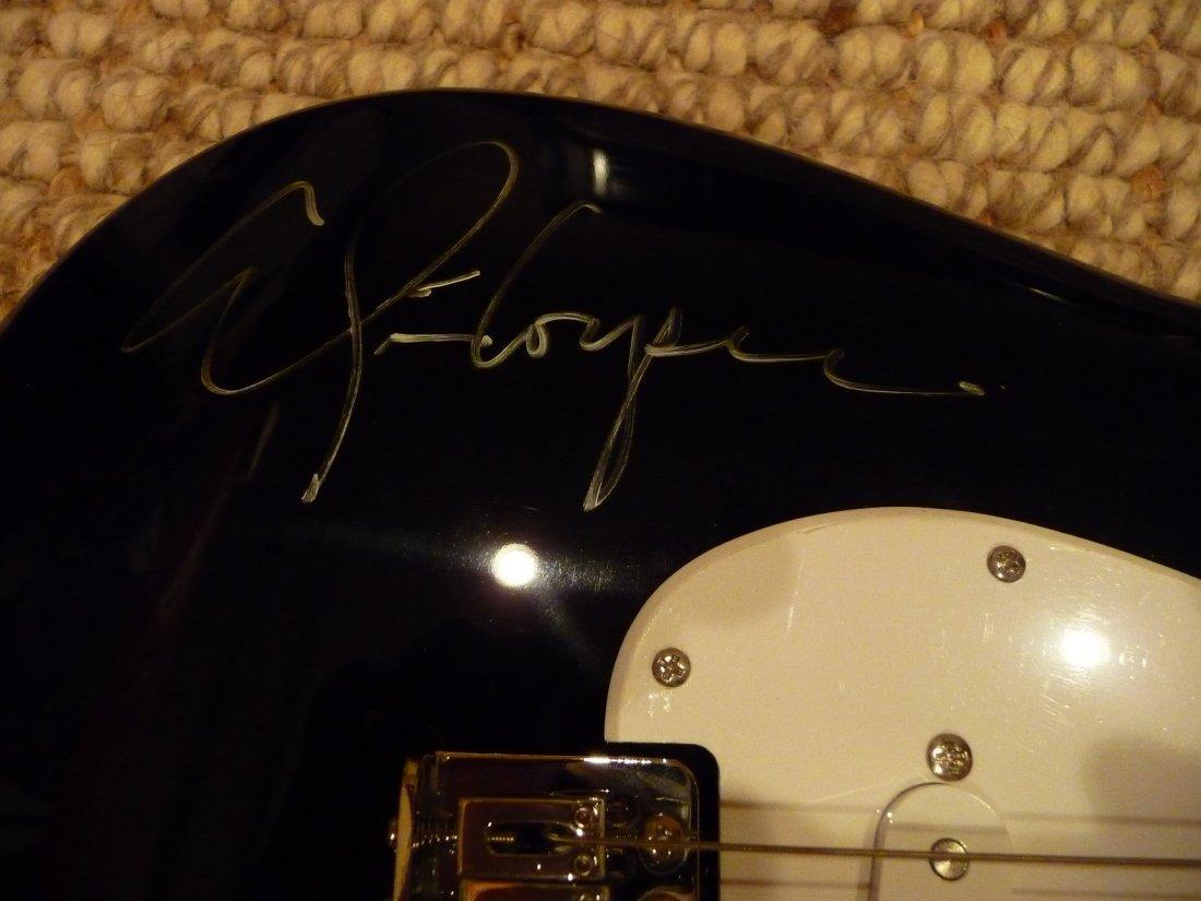 Alice Cooper signed Squire Fender Guitar