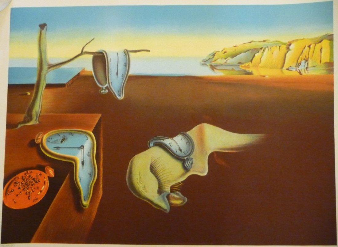 """""""Persistence of Memory"""" by Salvador Dali."""