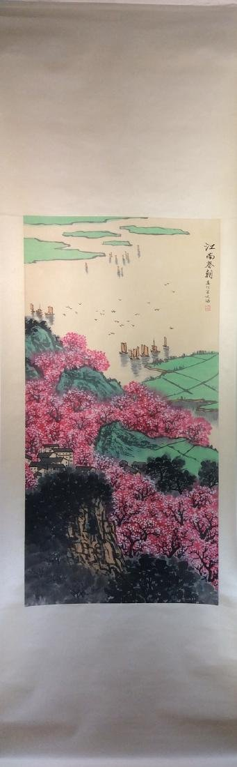 Chinese painting, hand painted,  Hanging scroll