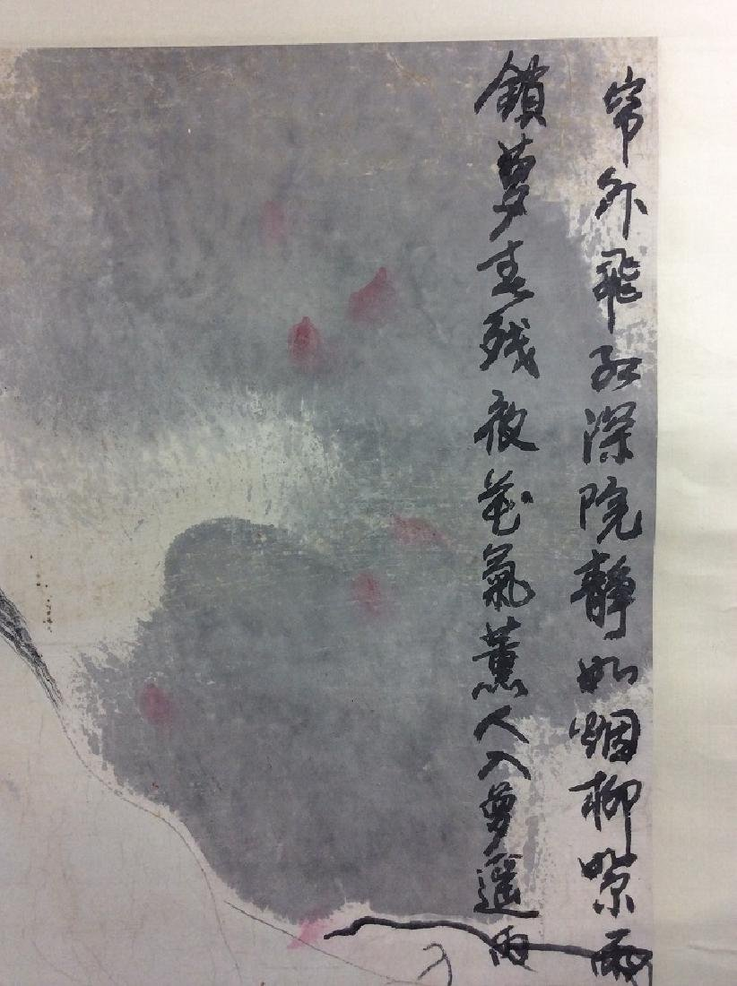 Chinese painting, hand painted scroll, ink and colors - 3