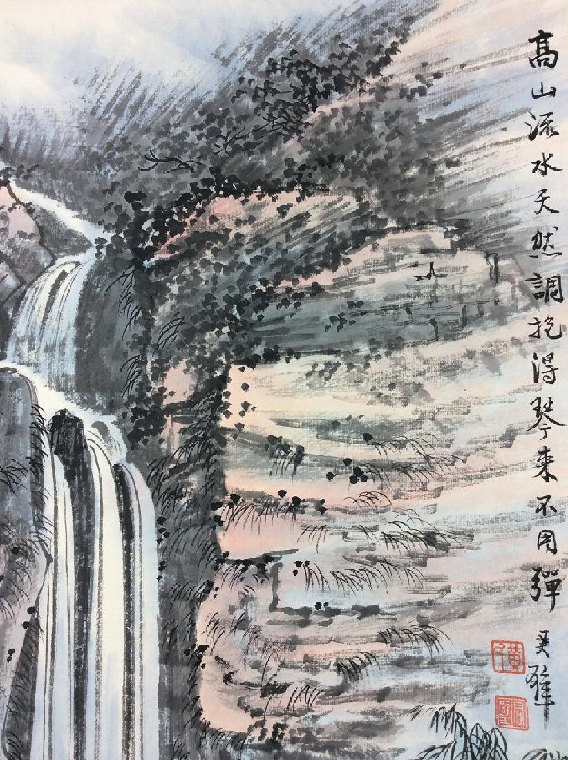 Chinese painting, hand painted,  Hanging scroll - 5