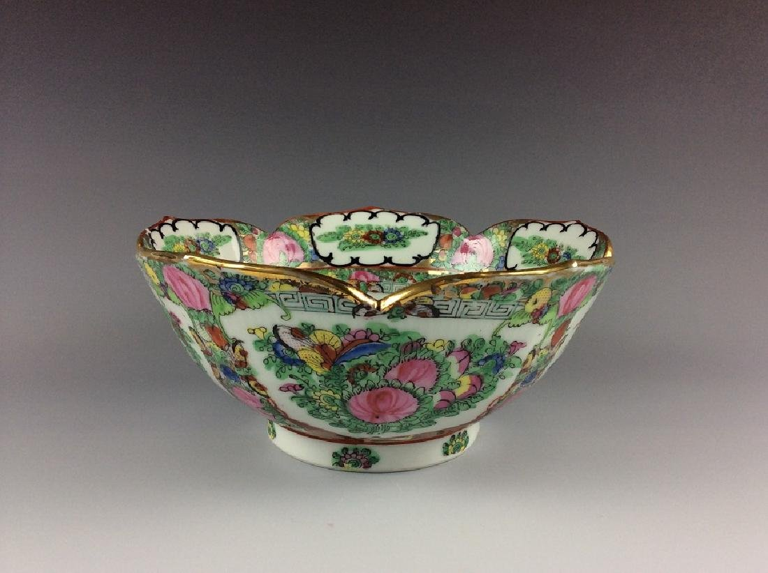 Export Chinese famille rose bowl