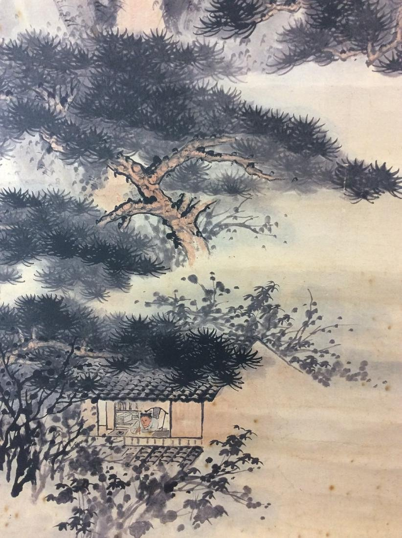 Chinese mountainous landscaping painting, water color - 6