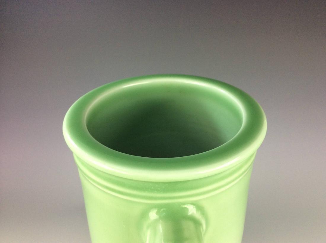 Large Chinese green / celadon glaze porcelain vase, - 4