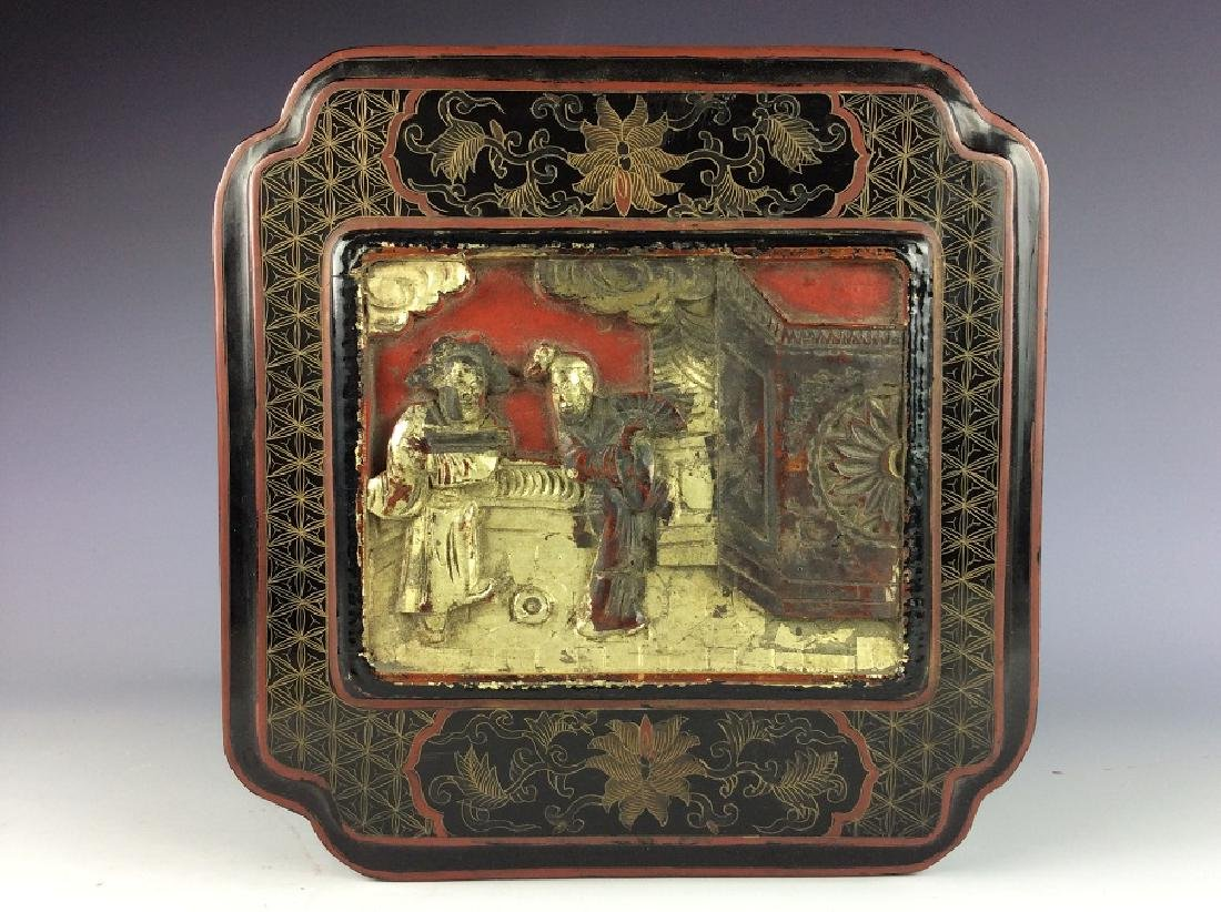 Vintage Chinese lacquer box - 2
