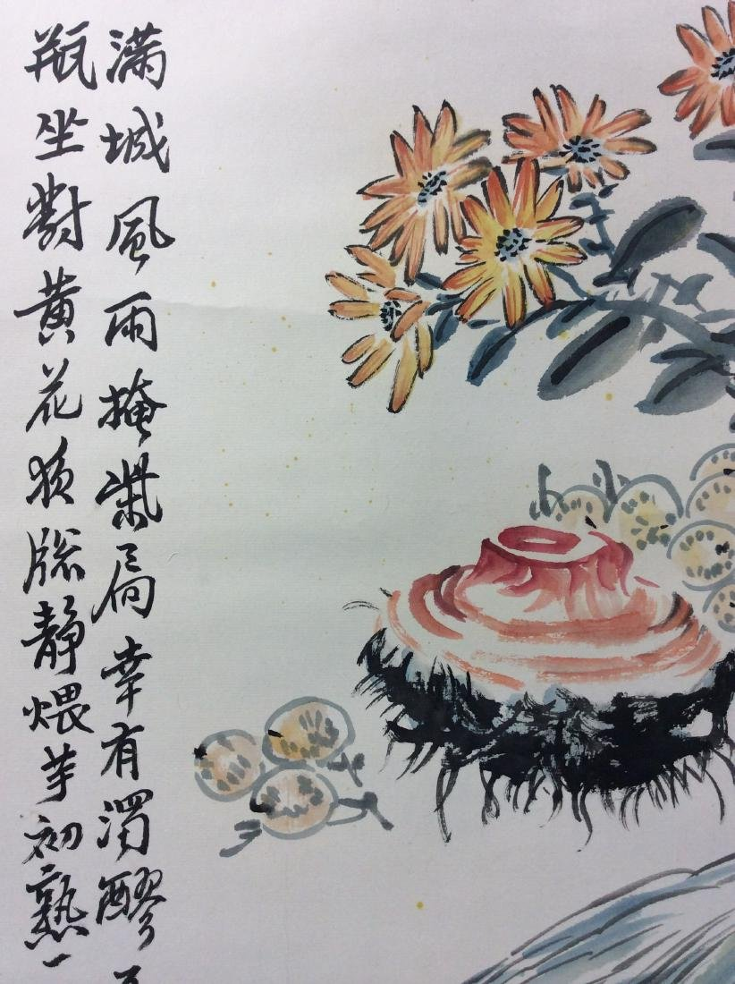 Chinese painting hanging scroll hand painted - 4