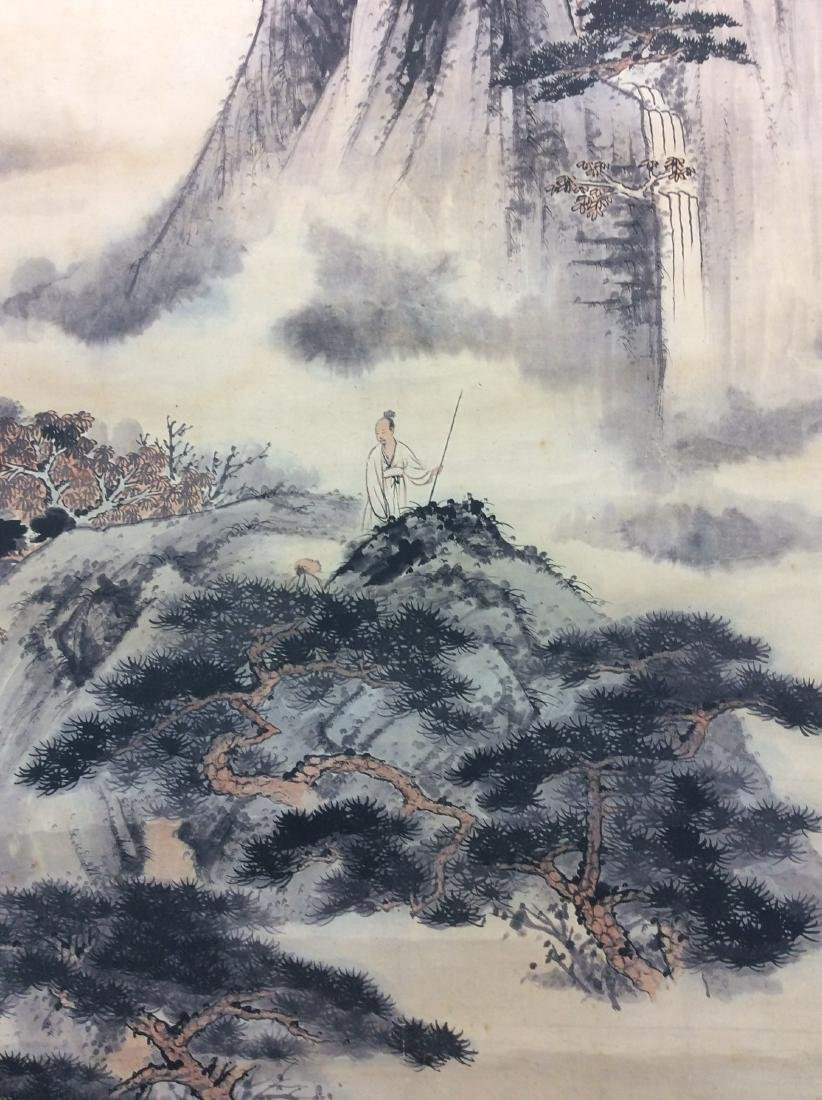 Chinese mountainous landscaping painting, water color - 5