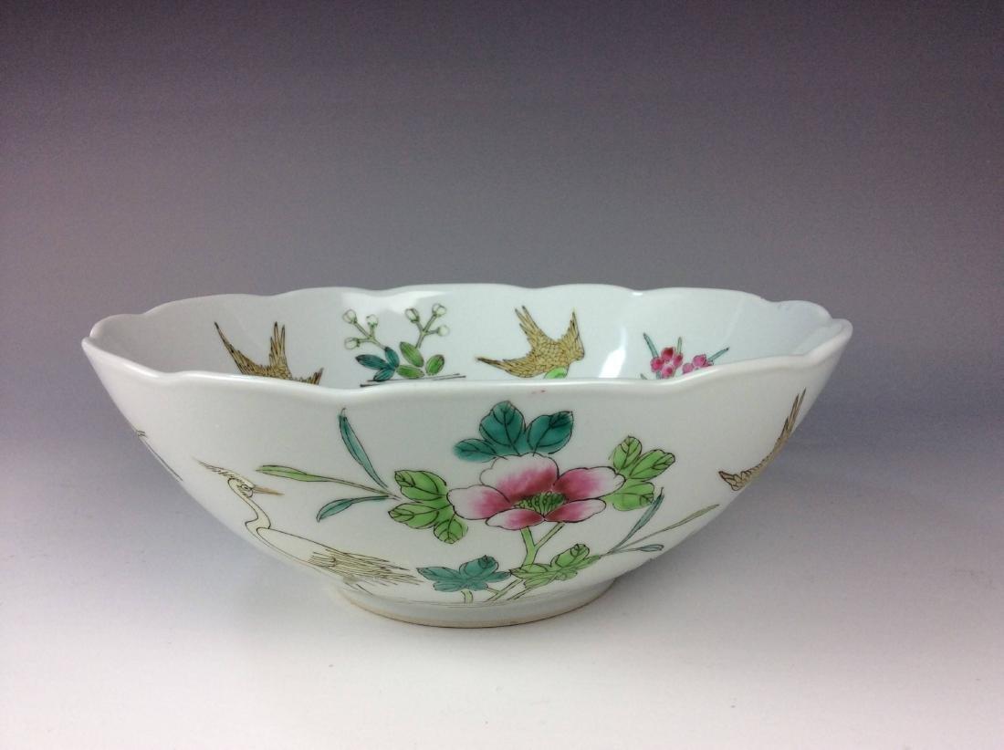 Fine Chinese porcelain famille rose bowl