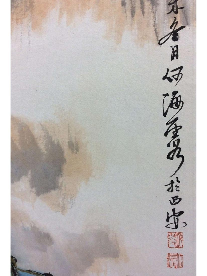 Chinese Hand painted,  Hanging scroll - 3