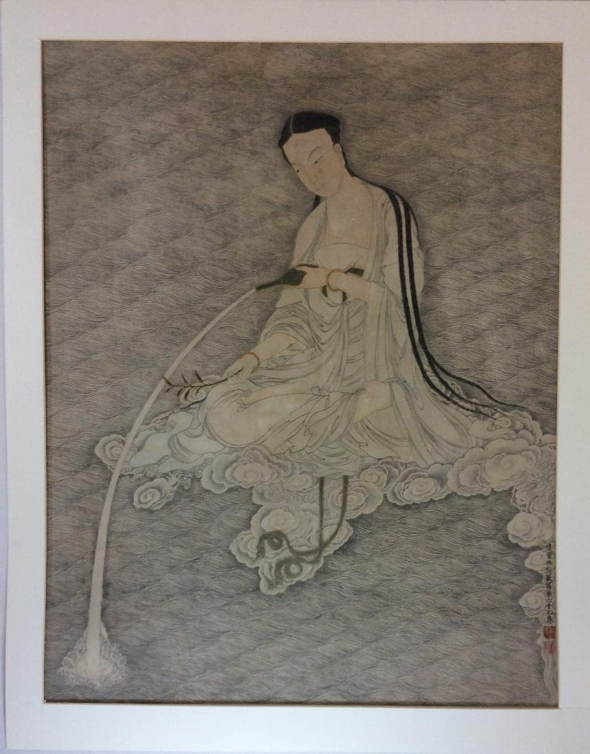 Chinese painting, hand painted with water color and ink