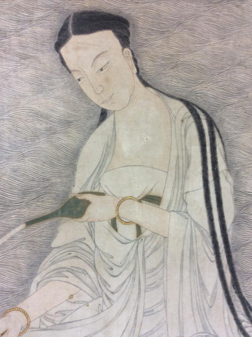 Chinese painting, hand painted with water color and ink - 2