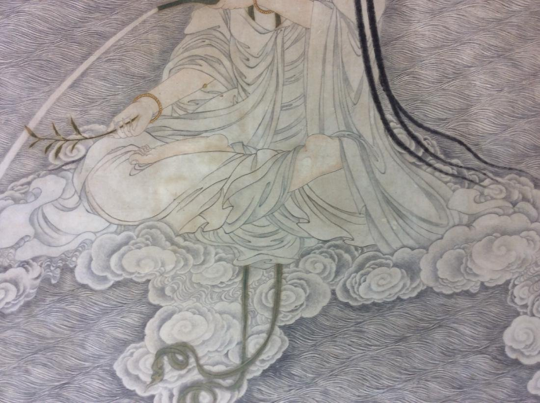 Chinese painting, hand painted with water color and ink - 3