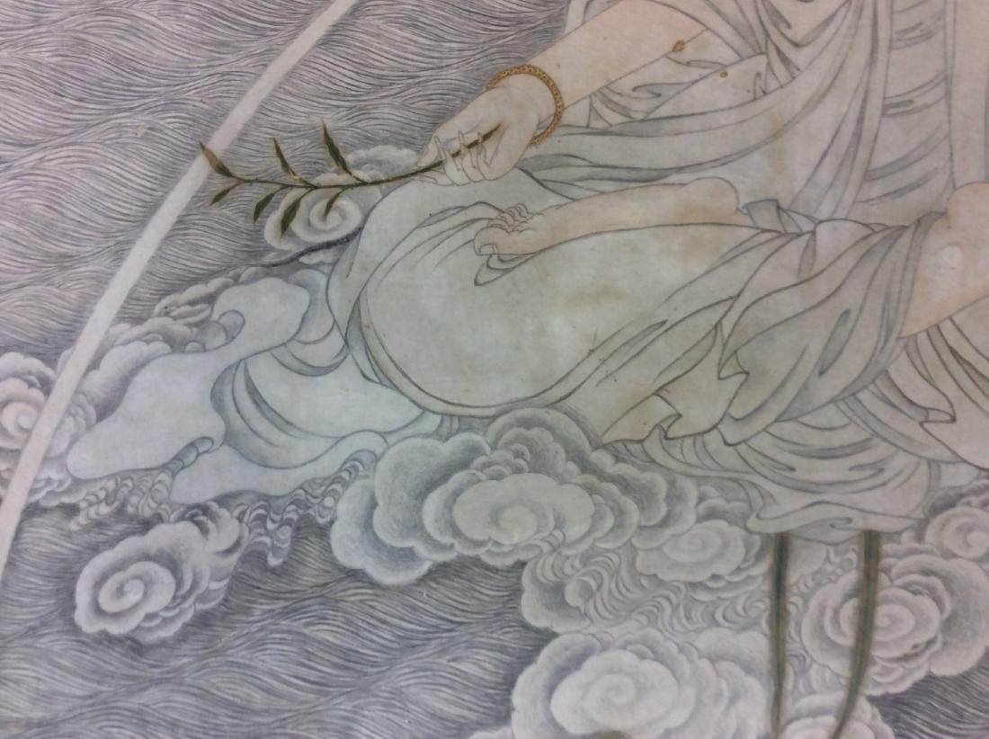Chinese painting, hand painted with water color and ink - 4