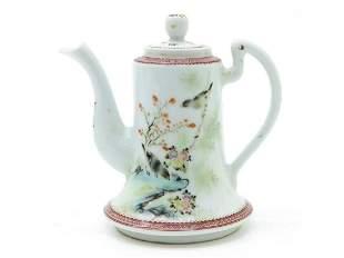 Republic period fine Chinese polychrome porcelain