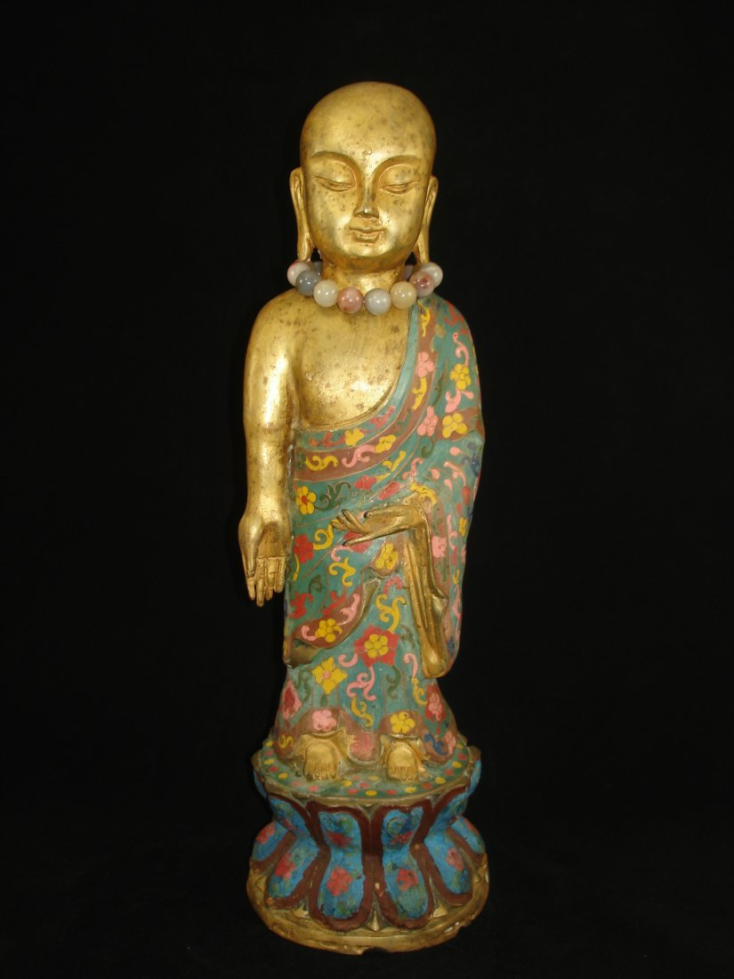 Bronze Chinese Figurine Buddah