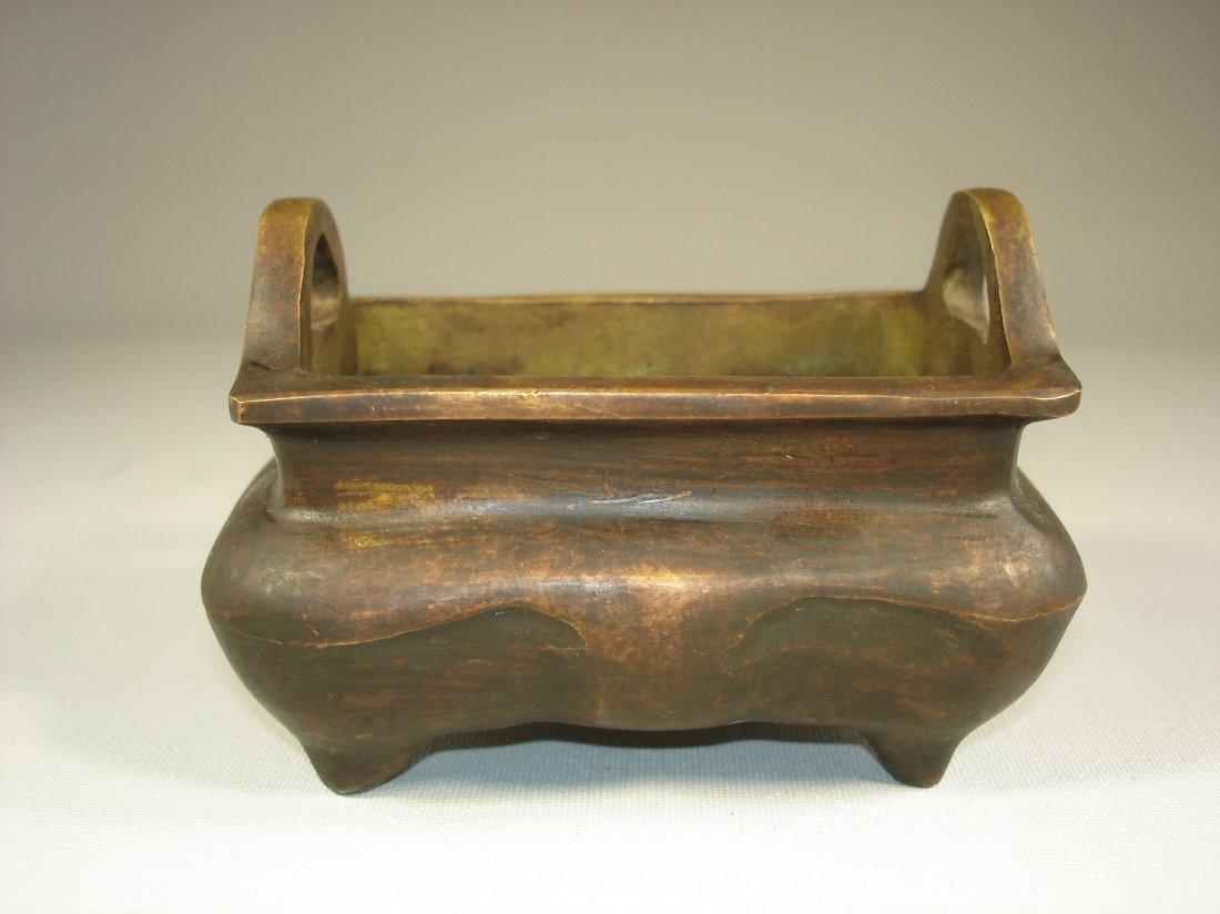 chinese brass incense burner/censer
